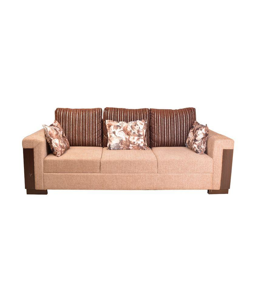 Hometown Amazon Fabric 3 Seater Sofa Buy Hometown Amazon