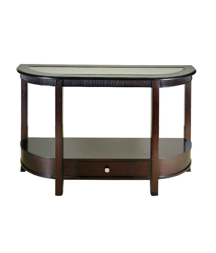 HomeTown Zina Solidwood Console Table