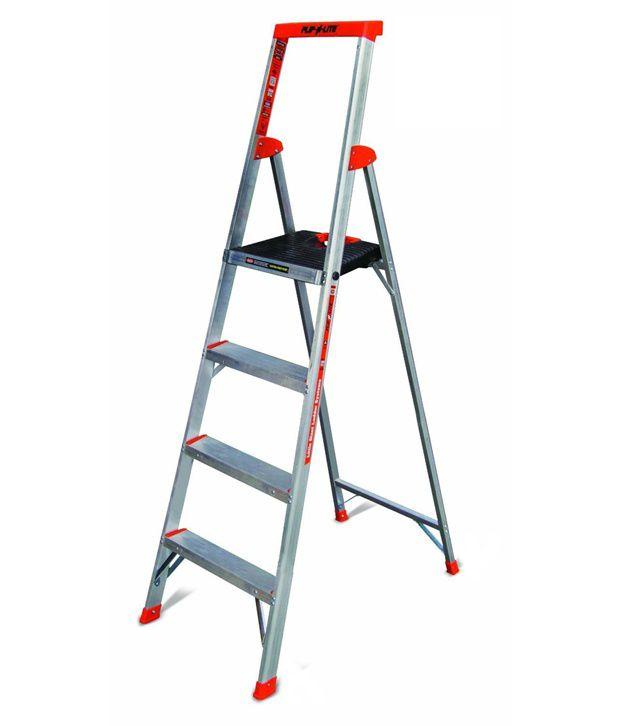 Little Giant Flip N Lite Aluminium Ladder 6 Foot Made In