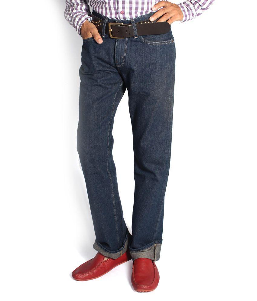 Denizen Regular Fit Blue Jeans 30262-0096