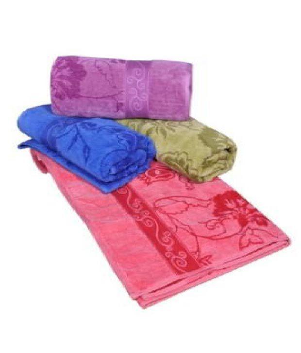 Eurospa Cotton Bath Towels