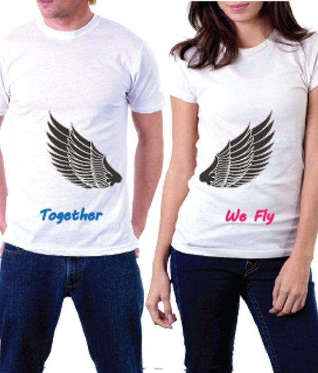 La We Fly-stunning Couple T-shirt