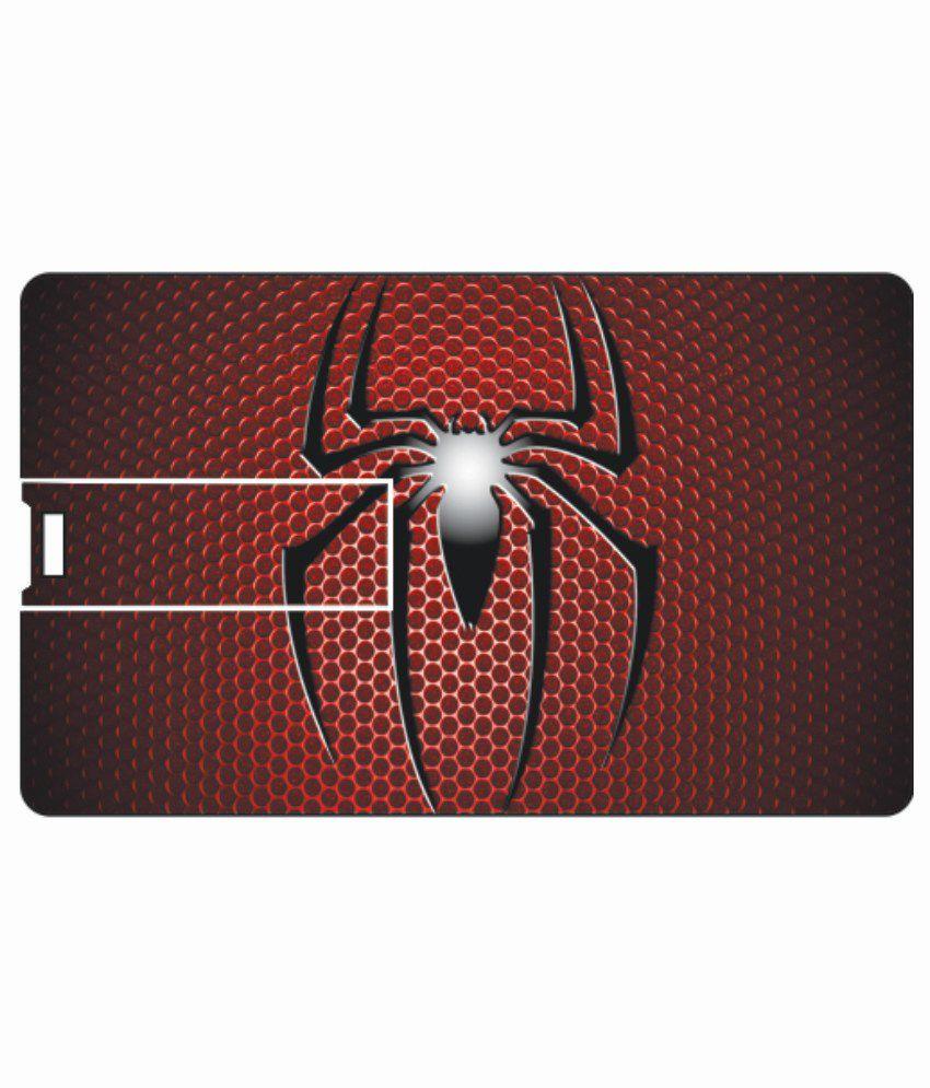 Printland Spider 4GB Card 4 GB Pen DrivesMulticolor