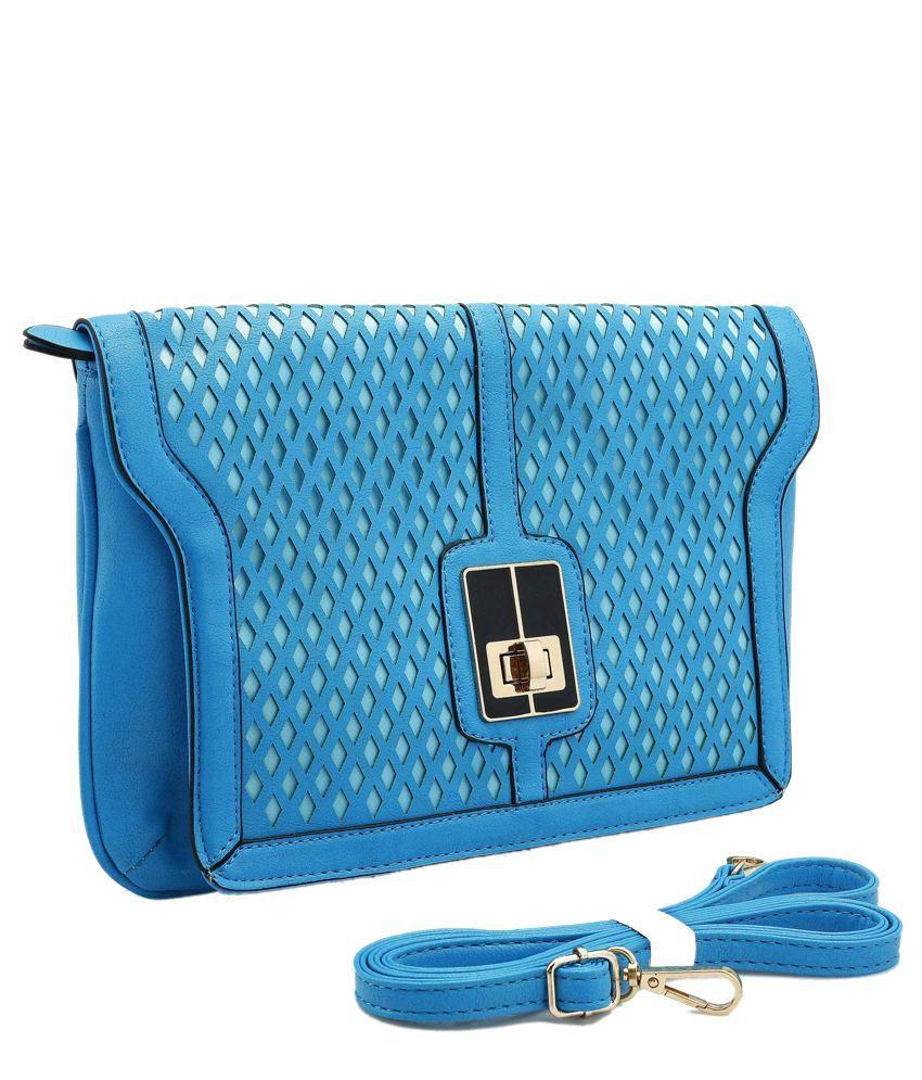 Daphne DP14-0045BL Blue Sling Bags