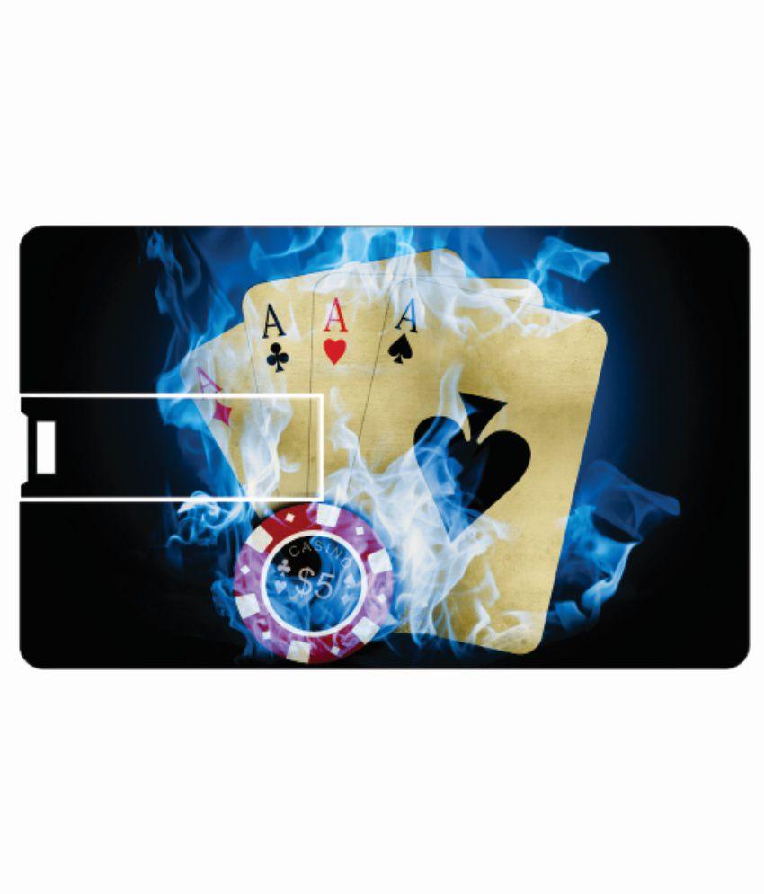 Printland cards 4GB Card 4 GB Pen DrivesMulticolor