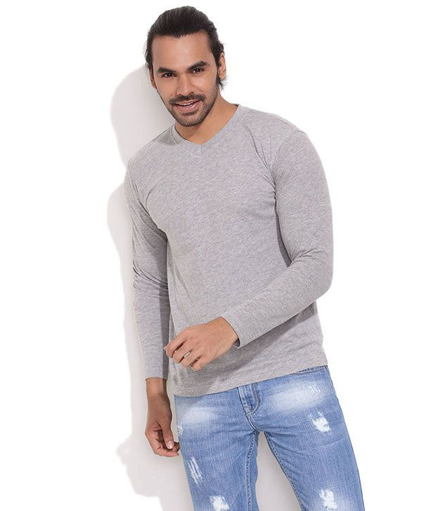 Rattrap Light Grey All-Chilled Out T-Shirt
