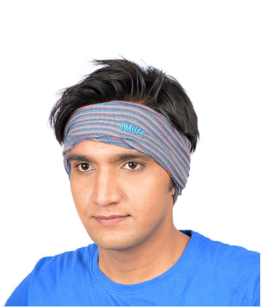 SmuffWear Multi-Coloured Cotton Headwrap