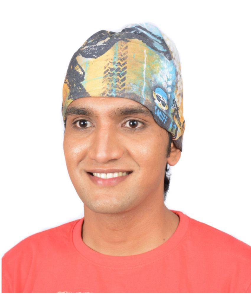 SmuffWear Multi-Coloured Polyester Headwrap