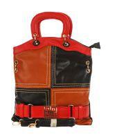 Eleegance 300-BLACK Black Satchel Bags