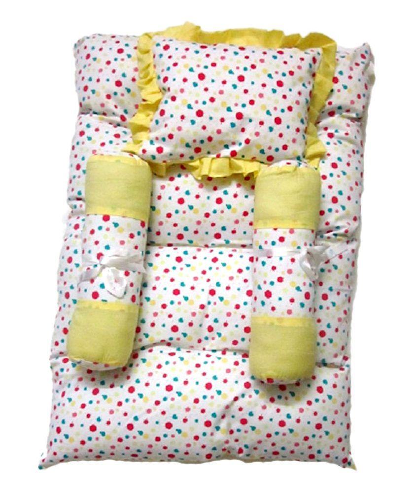 Baby bed online flipkart - Kirvi Multi Color Cotton Baby Bedding Sets