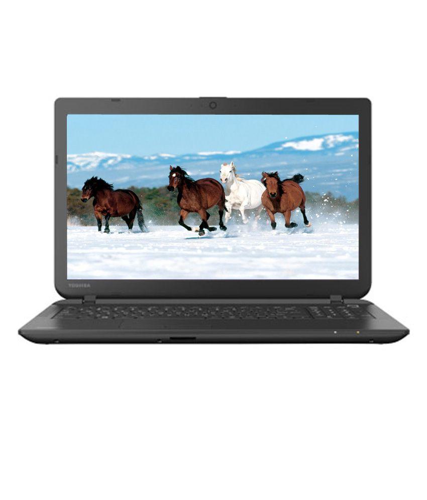 Toshiba Satellite C50D-B M0010 Notebook (APU Dual Core E1- 2GB RAM- 500GB HDD- 39.62cm (15.6)- DOS) (Carbon Black) (PSCMZG-00200G)