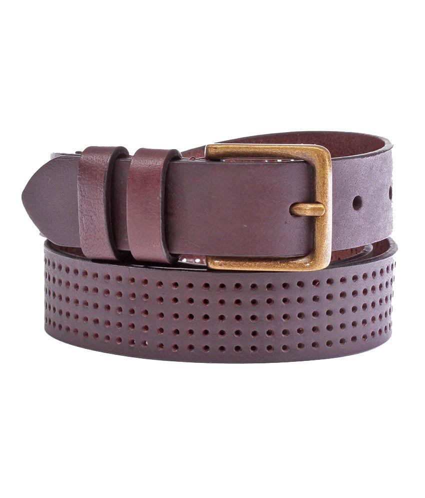 Jack & Jones Brown Casual Single  Belt  ForMen