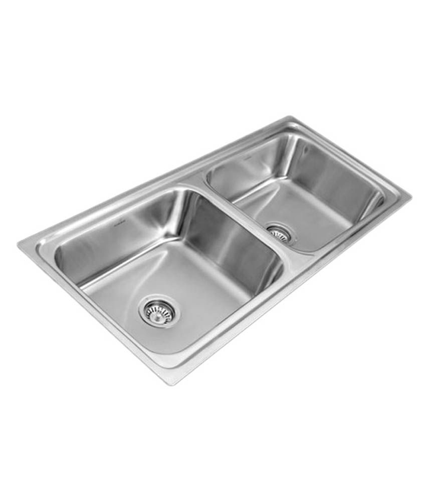 buy neelkamal double bowl sink for kitchen online at low price in rh snapdeal com