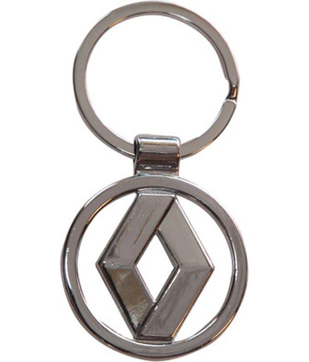 Egizmos New Renualt Full Metal Key Chain