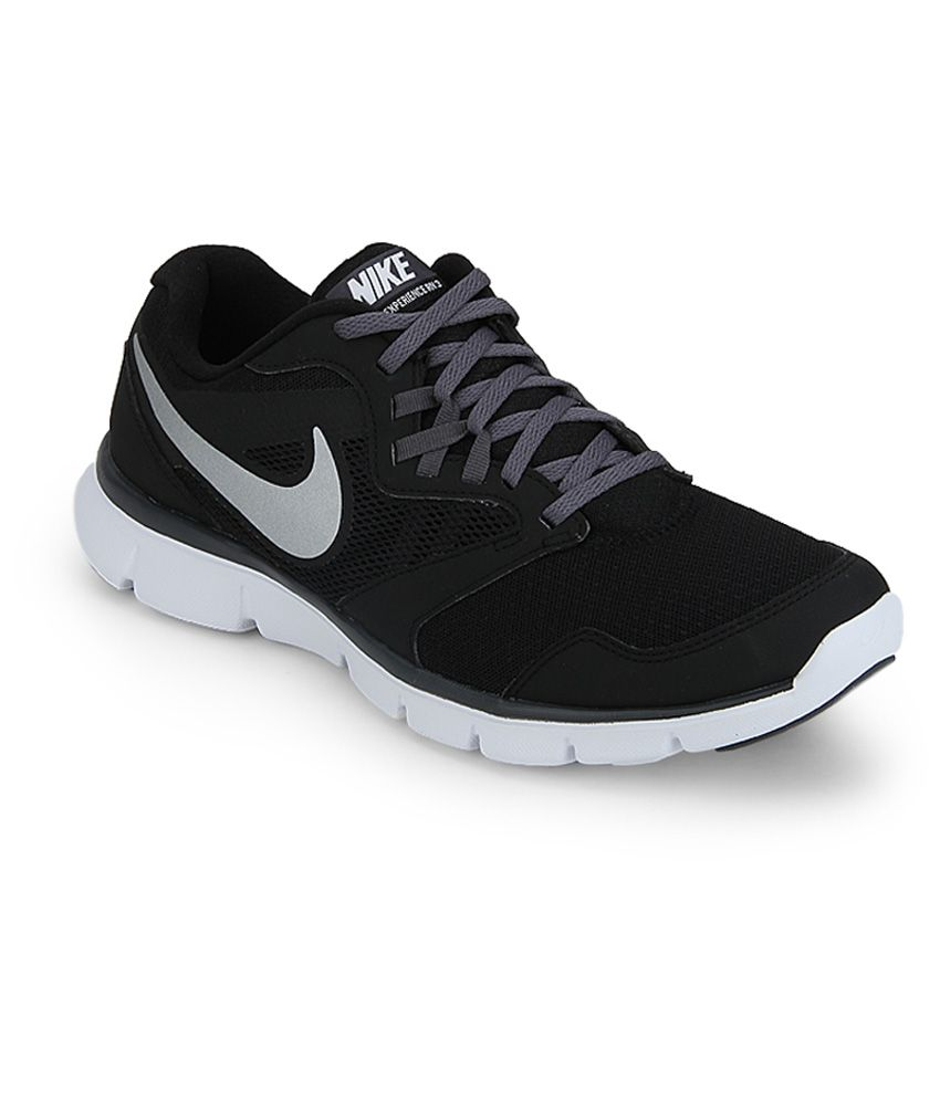 1a605f369954 Nike Flex Experience Black Running Shoes - Buy Nike Flex Experience Black  Running Shoes Online at Best Prices in India on Snapdeal