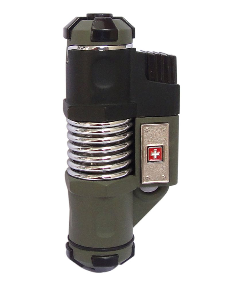 Best Buy Military Discount >> Swiss Military Wind Proof Triple Jet Flame Lighter: Buy ...