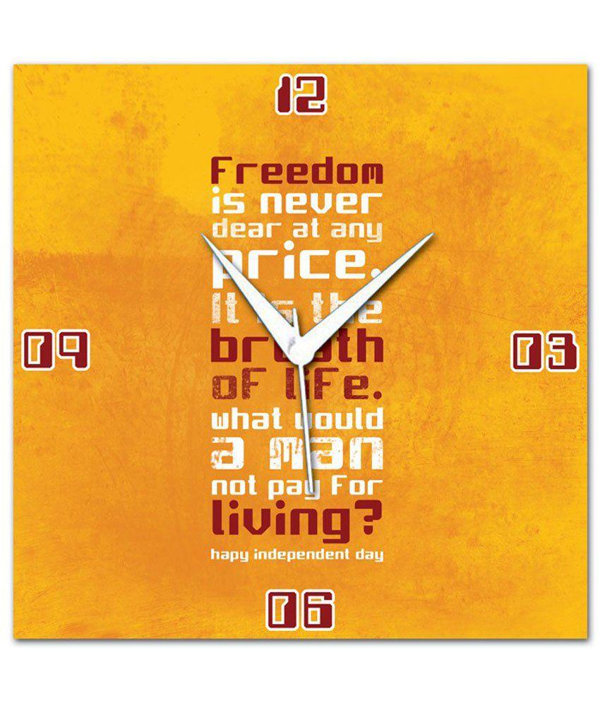 Amore Freedom Wall Clock: Buy Amore Freedom Wall Clock at