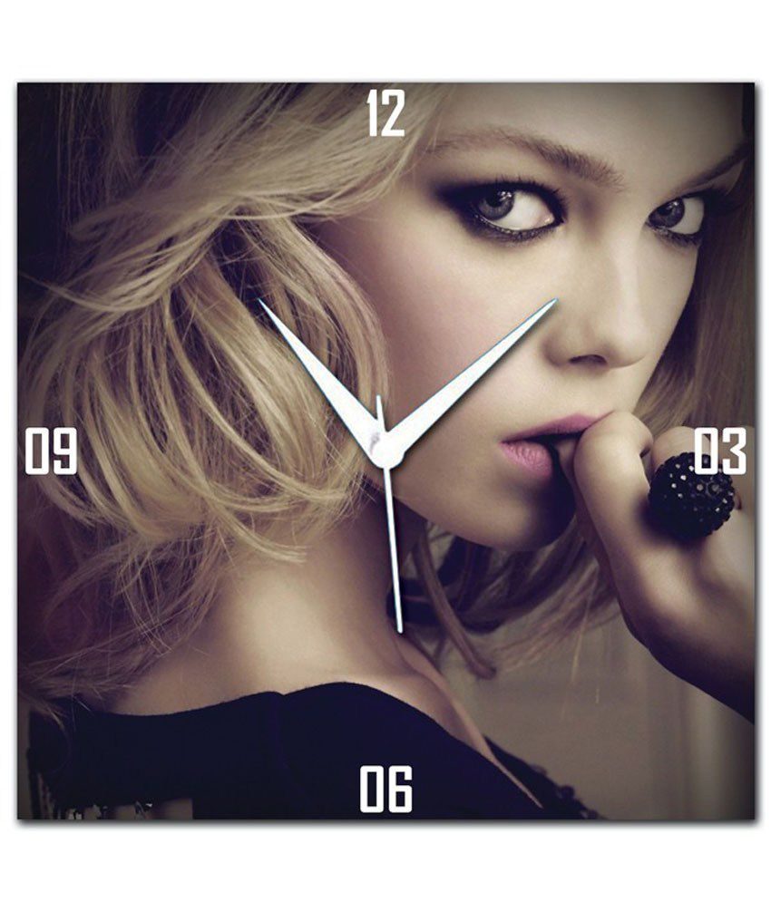 Amore Makeup For Deep Set Eyes Wall Clock Buy Amore Makeup For Deep