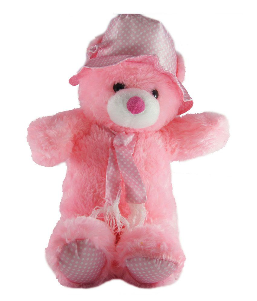 Tickles Cute Cap Teddy Bear