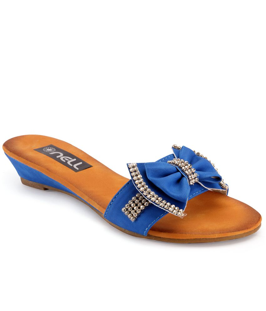 Nell Blue Flat