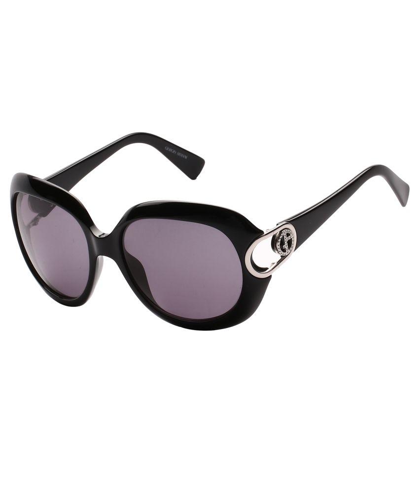 Emporio Armani Round Armaniblack Women'S Sunglasses