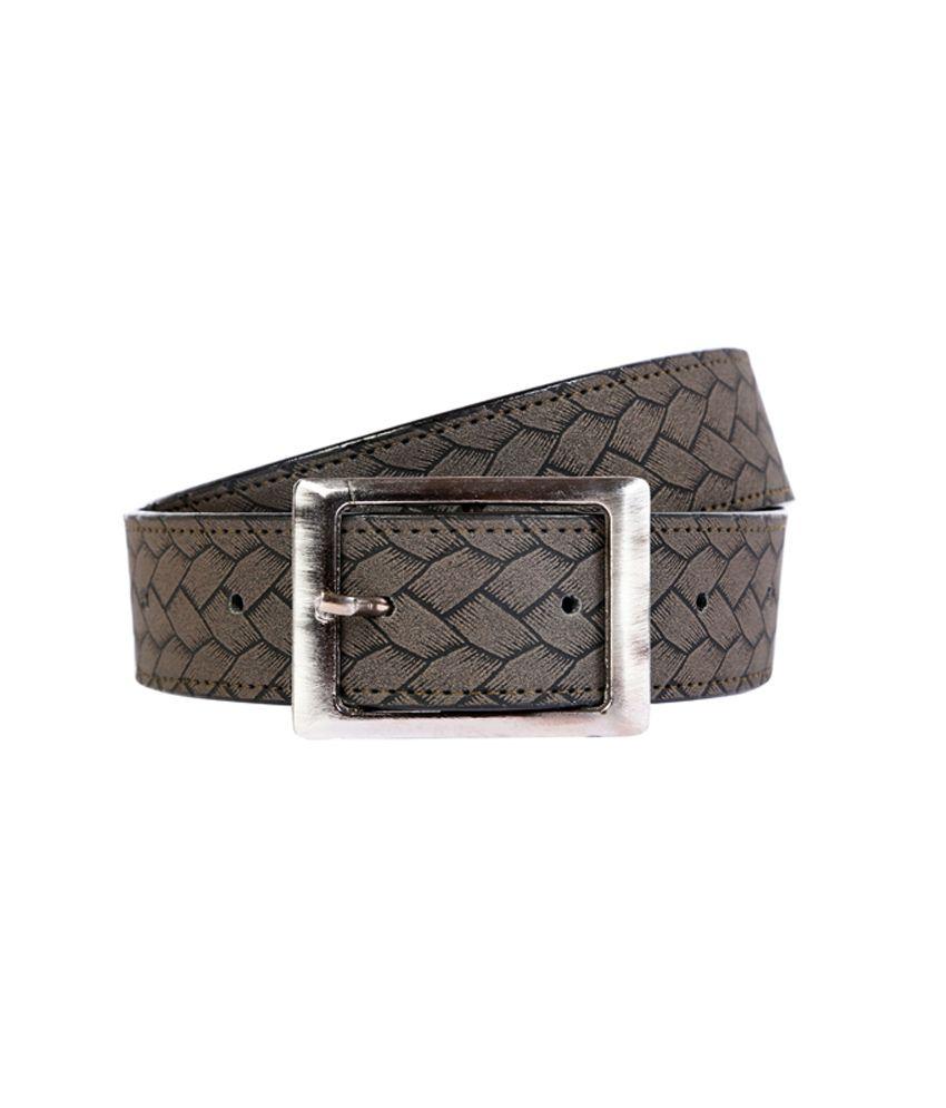 Exhort Fashion Gray Belts