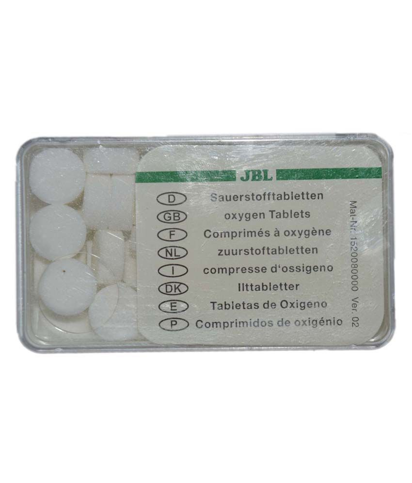 Aquarium fish tank online chennai -  Jbl Imported Aquarium Fish Tank Jbl Instan Oxytabs Oxygen Tablets