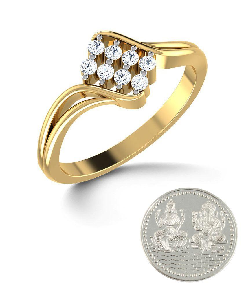 Jewel Berry Bruco Rico Hallmark 14kt Gold Ring