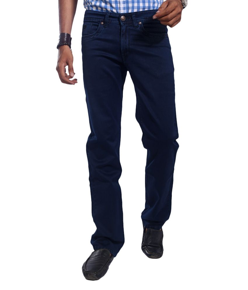 Urban Navy Blue Regular Jeans
