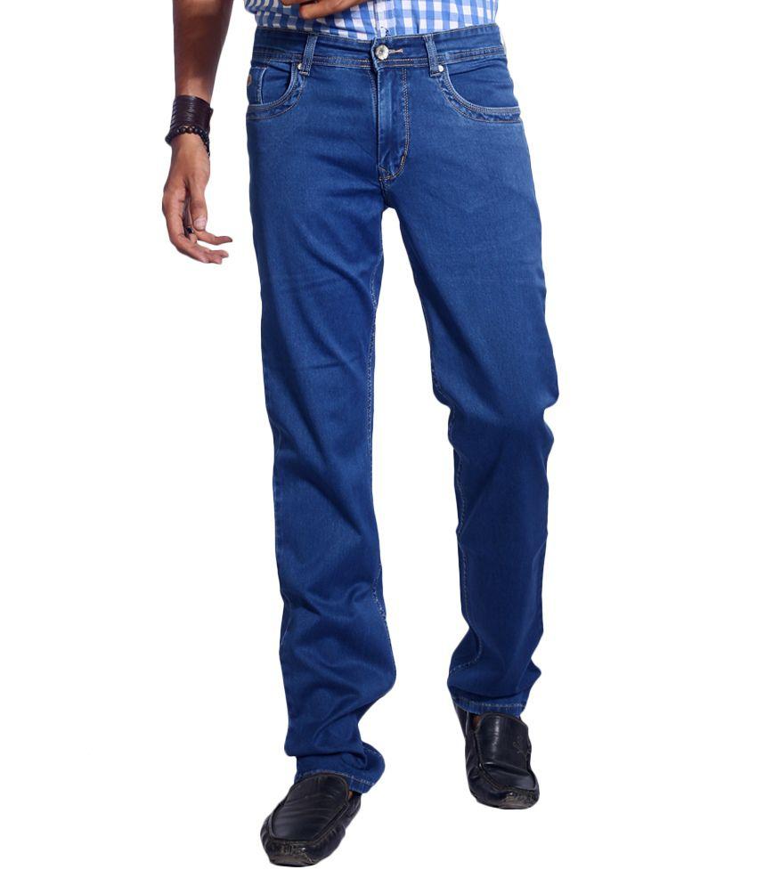 Urban Navy Blue Regular Jeans