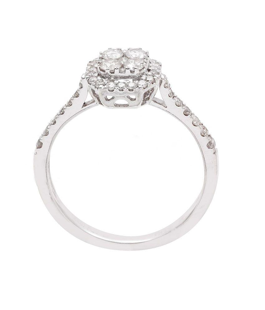 Sapphire 14kt Gold Wedding & Engagement Diamond Stone Ring