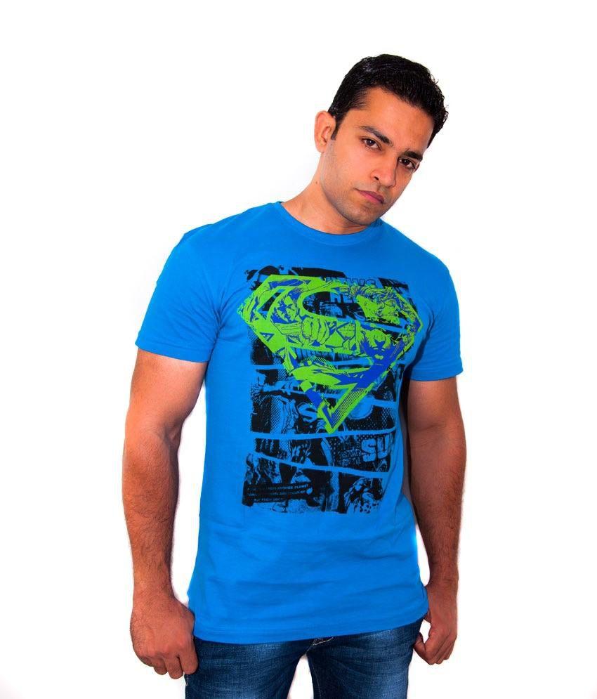 Orignals  Imprinted Logo Blue T Shirt