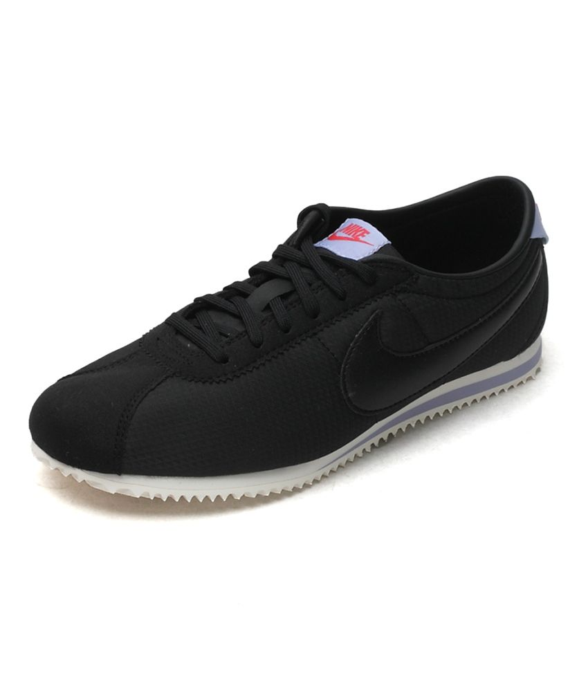 best sneakers 85a84 ff993 Nike Black Cortez Lite Txt Women Lifestyle Shoes Price in ...