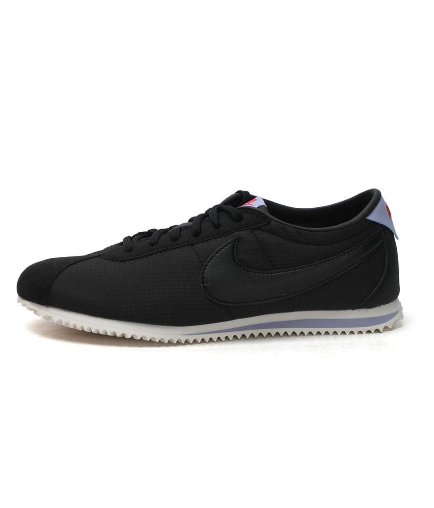 best sneakers 5e077 f9864 Nike Black Cortez Lite Txt Women Lifestyle Shoes Price in ...