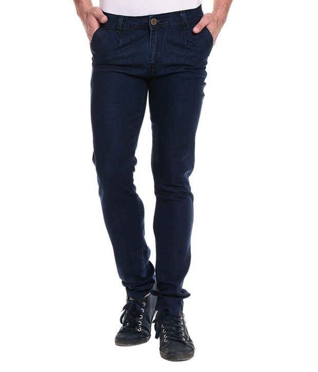 Akaas Navy Slim Jeans