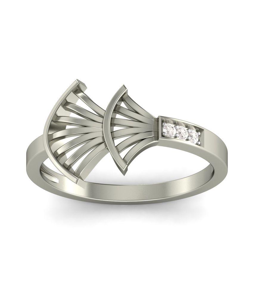 Kuberbox 14k Gold Diamond Deceptive Charm Ring