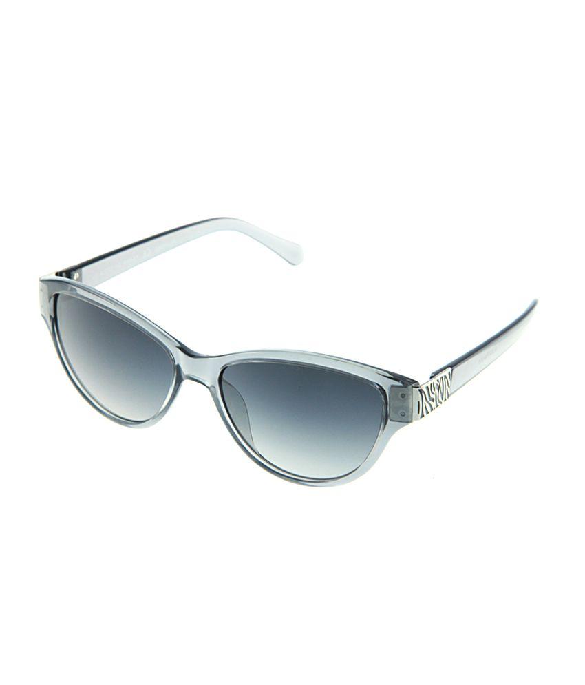 Polar Solar PS-4089-C4_W-4 Gray Medium Women Cat Eye Sunglasses