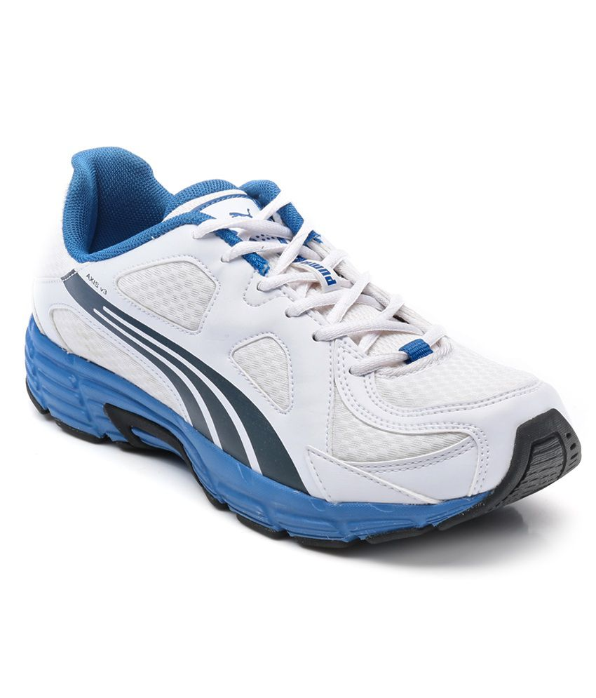 Puma Axis V3 Ind. White Running Shoes