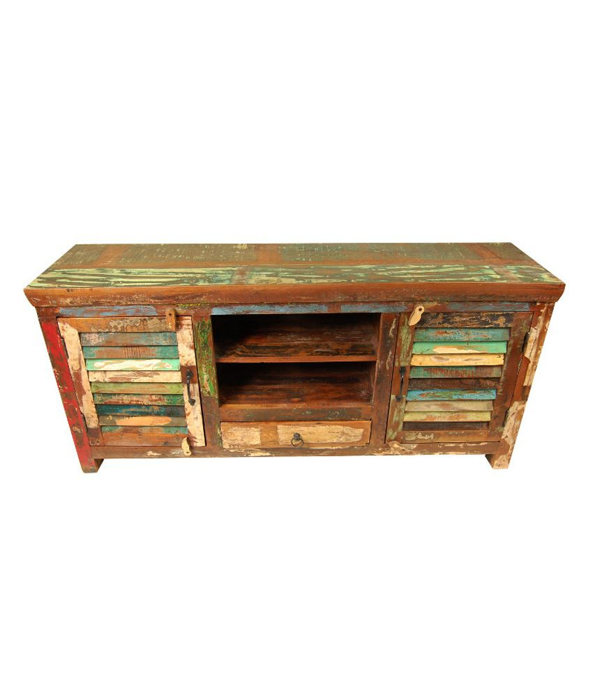 The attic reclaimed wood abuja sideboard buy the attic for Reclaimed wood online