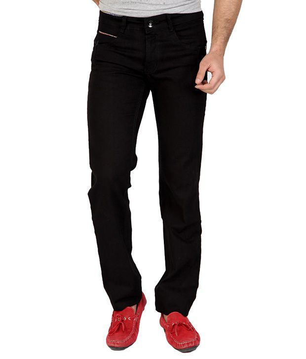 Fungus Black Regular  Jeans