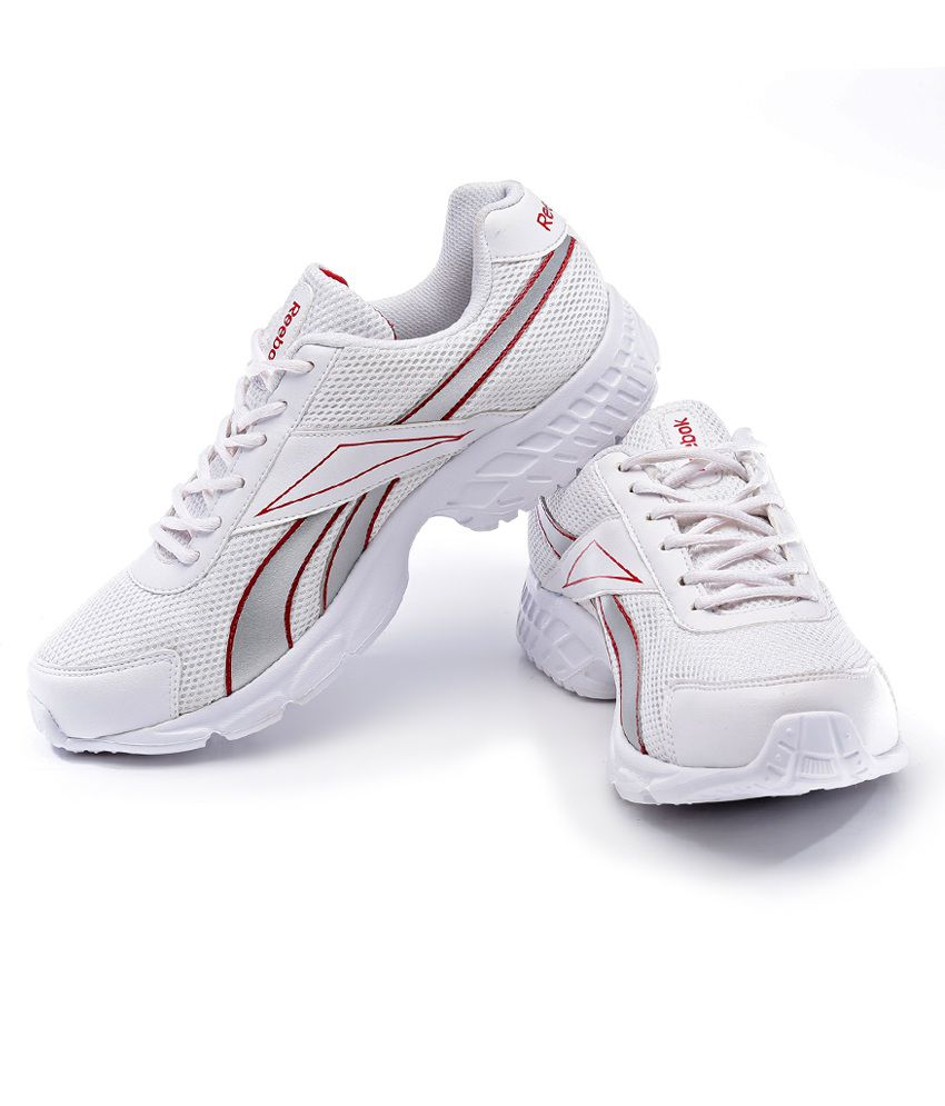 0b657b9dd Reebok Running Sports Shoes Art RBJ15606WHTREDSIL Reebok Running Sports  Shoes Art RBJ15606WHTREDSIL ...