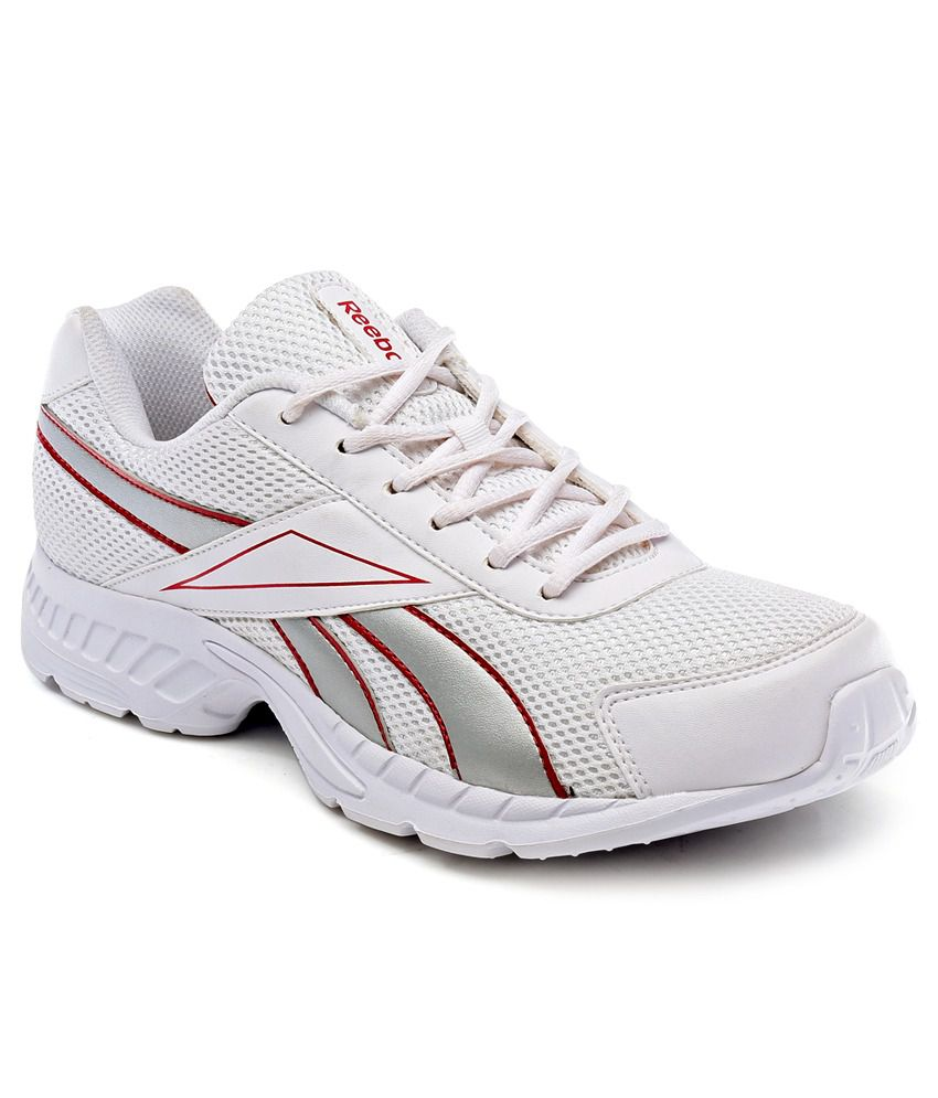 8a886c8370131 Reebok Running Sports Shoes Art RBJ15606WHTREDSIL - Buy Reebok Running  Sports Shoes Art RBJ15606WHTREDSIL Online at Best Prices in India on  Snapdeal