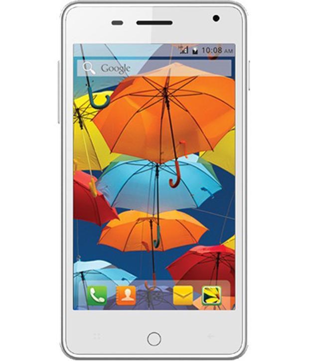 Intex Aqua Style 1.75 GB Mobile Phone (White)