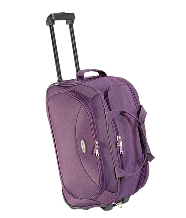 9f757ee25138 Princeware Purple Duffle Trolly Set Of 2 - Buy Princeware Purple Duffle  Trolly Set Of 2 Online at Low Price - Snapdeal