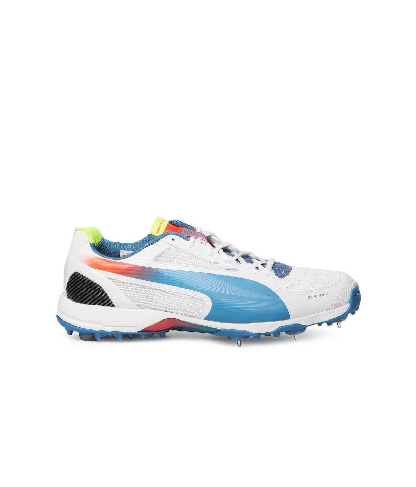 ... Puma Evospeed Cricket Spike 1.2 Blue Cricket Shoes ...