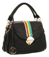 Eleegance 822-black Black Satchel Bags