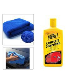 Speedwav Car Cleaning Kit Formula1 Complete Compound 473ml Withmicrofiber Cloth