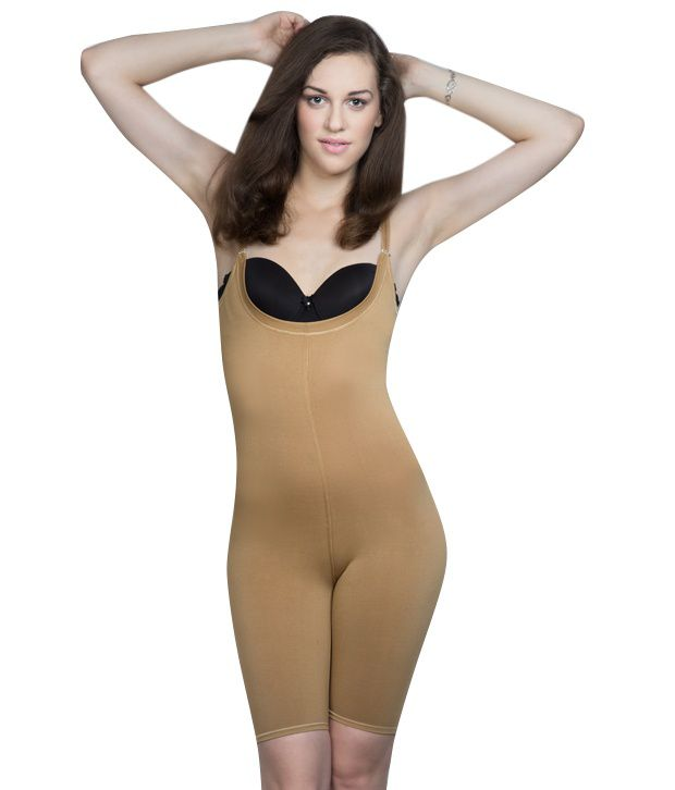 a00db28266 Buy Body Brace Beige Body Shaper Online at Best Prices in India - Snapdeal