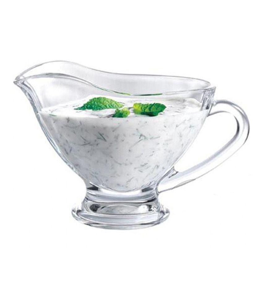 Pasabahce Clear Glass 170 Ml Basic Sauce Boat