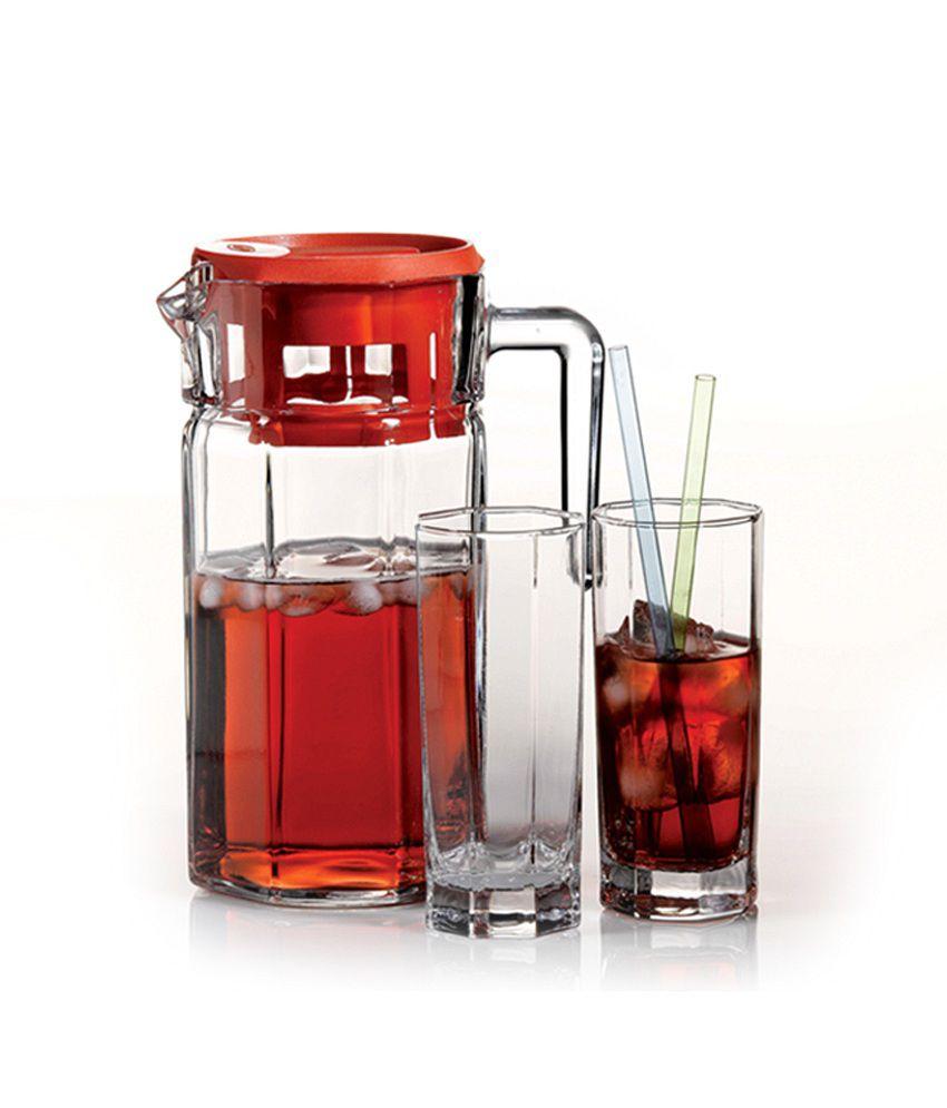Pasabahce Clear Glass Kosem Water Set